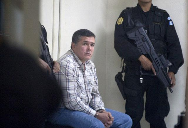 Alleged drug trafficker, Guatemalan Horst Walther Overdick Mejia, aka